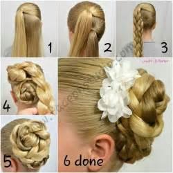 wedding hairstyles step by step chongos f 225 ciles para peinar a ni 241 as tips de madre
