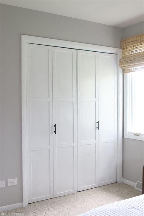 diy tutorial transform plain bi fold doors the diy playbook