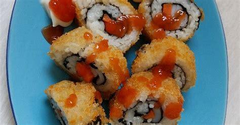 sushi goreng  resep cookpad