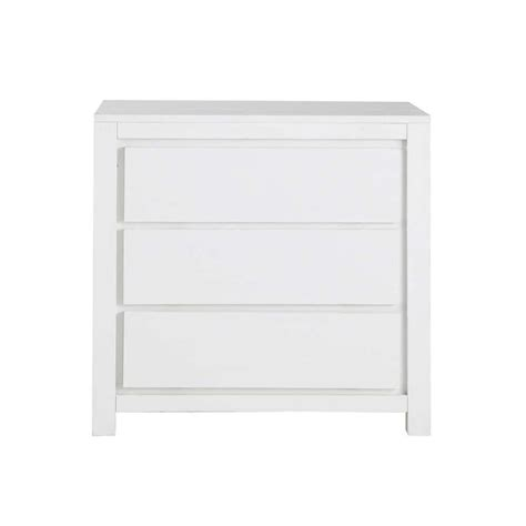 White Chest Of Drawers Solid Wood solid wood chest of drawers in white w 85cm white