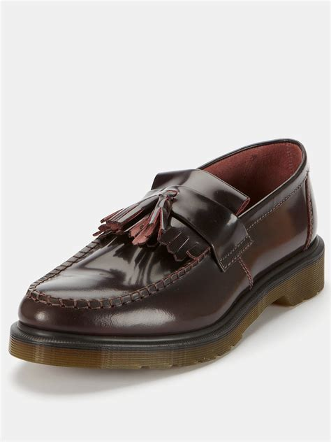 dr martens loafers with tassels dr martens dr martens adrian mens tassel loafers in