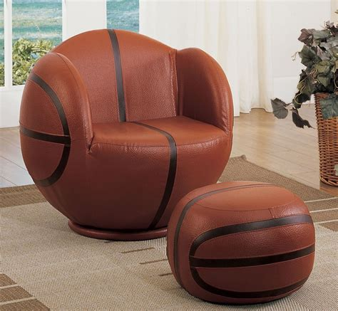 Basketball Chair by Football Basketball Baseball Soccer Swivel Chair