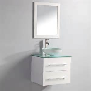 24 Bathroom Vanity With Vessel Sink Mtd Vanities Cuba 24 Modern Vessel Sink Wall Mount