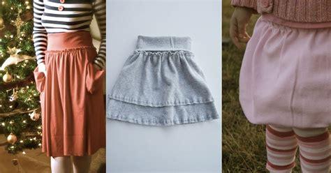 jersey skirt pattern free tutorial the jersey skirt