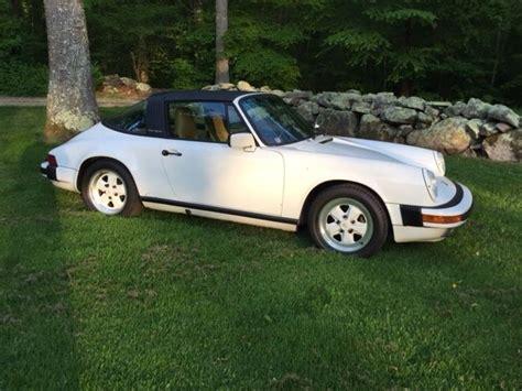 porsche targa white 1987 white 911 porsche targa