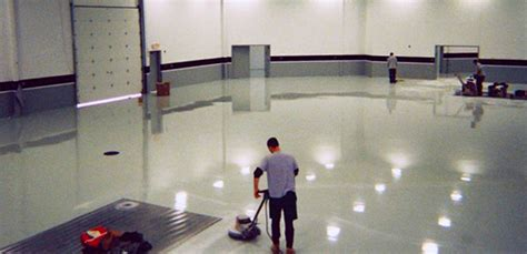 Floor Buffing Service by Concrete Floor Polishing Callaway Industrial Services