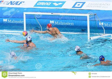 water polo goalkeeper books water polo innefective goalkeeper editorial stock photo