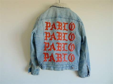 Pablo Denim Jacket of pablo denim jacket w shearling lining size l