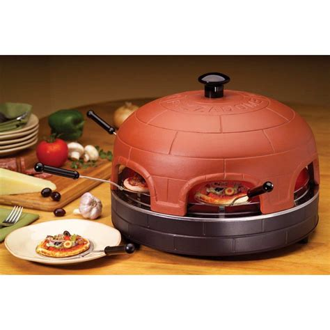 personal pizza oven buy kawachi portable pizzadome portable italian brick