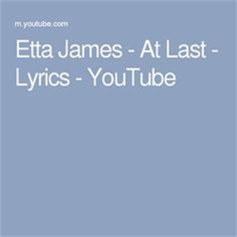 lyrics etta 1000 ideas about at last lyrics on sleeping