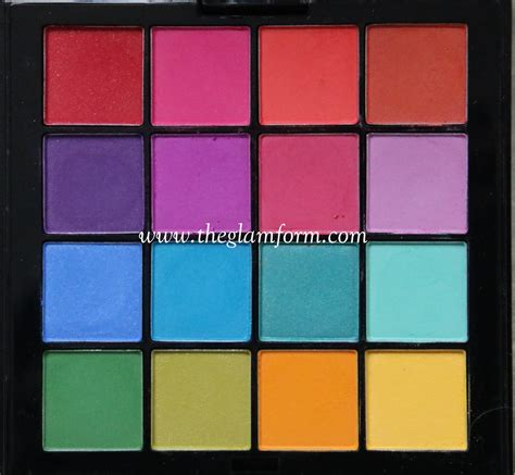 Nyx Ultimate Eyeshadow Palette nyx ultimate eyeshadow palette brights review and swatches