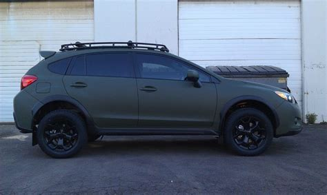 subaru crosstrek black wheels crosstrek custom roof rack wheels subaru
