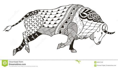 Sternzeichen Löwe Stier by Signe De Zodiaque Taureau Taureau Illustration De