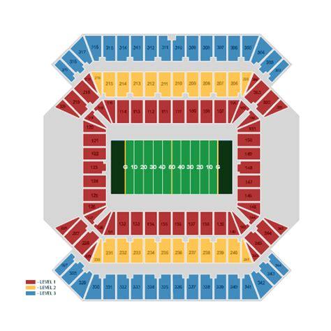 ta buccaneers stadium seating ta bay buccaneers vs buffalo bills december 08 tickets