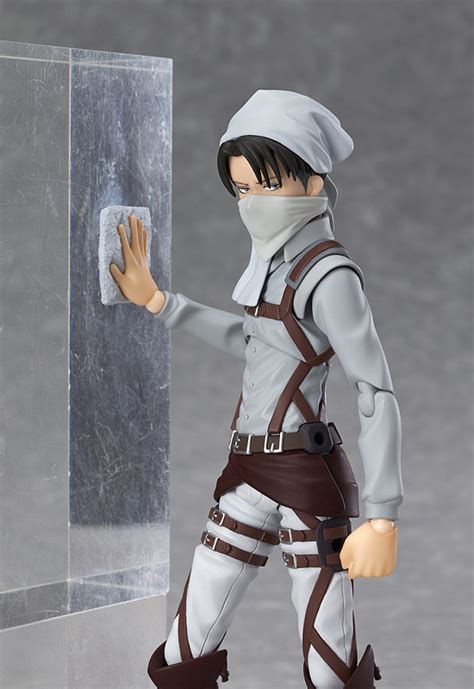 Figma Levi Attack On Titan Aot Max Factory Kw figma levi cleaning ver