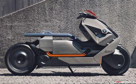 bmw bike concept bmw motorrad reveals futuristic zero emission bike concept