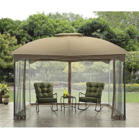 Outdoor Patio Gazebos Outdoor Gazebo Canopy 10x12 Patio Tent Garden Decor Cover Shade Shelter Curtain Ebay