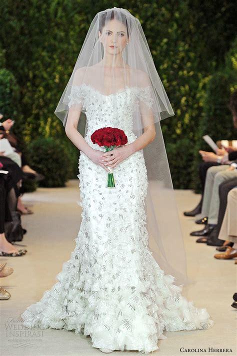 Carolina Herrera Wedding – Carolina Herrera Spring 2014 Bridal Collection   Bridal