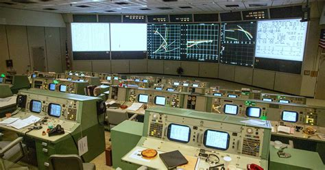 nasas restored mission control lets  relive