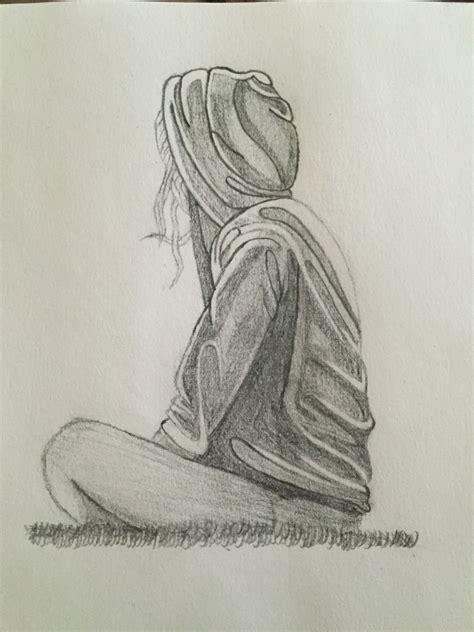 Sketches Of by Pencil Sketch Of Sad Sketches Of Sad