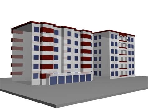residential building design and 3d animation youtube multi story residential building 3d model 3dsmax files