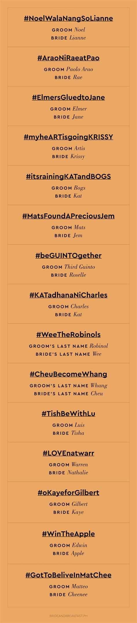 wedding hashtags more punny wedding hashtags philippines wedding