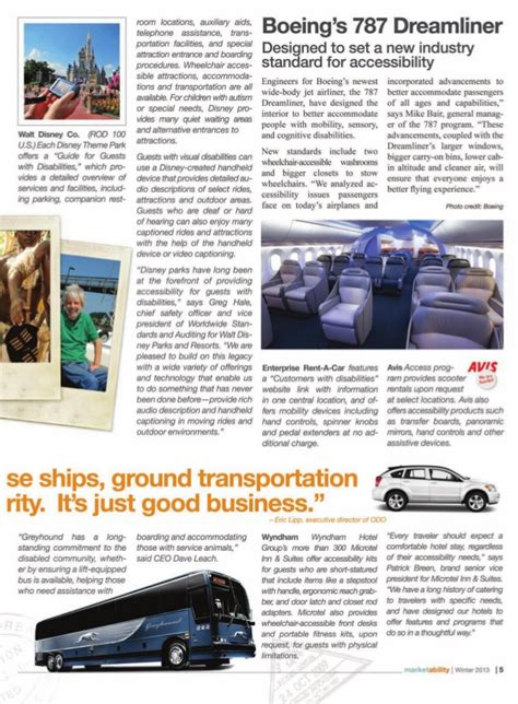 Special Section by Rains Marketability Ability Magazine Special Section
