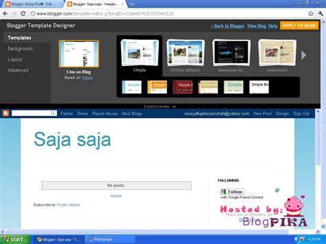 tutorial menggunakan google web designer syapeko 1 tutorial mencantikkan blog menggunakan
