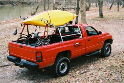 Kayak Rack For Truck by Truck Canoe Rack