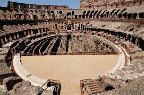02 Arena Floor Plan Partial Reconstruction Of The Arena Floor Photo De