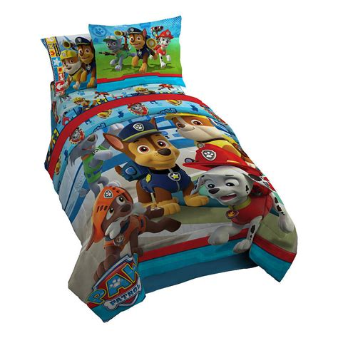 paw patrol bed paw patrol no pup too small twin comforter set ebay
