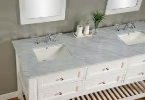 White Vanity With Marble Top 70 Inch Pearl White Mission Vanity Sink Cabinet