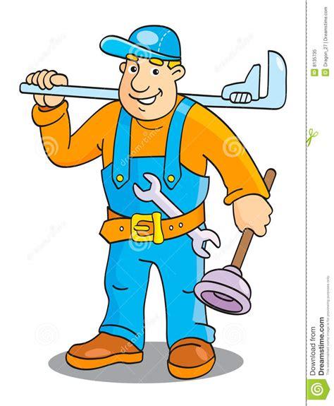 plumber royalty free stock photo image 8135735