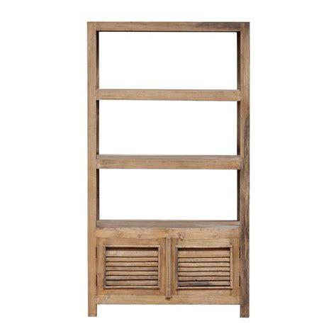 Rustic Bookcase With Doors The Importer Rustic Bookcase 2 Doors Original