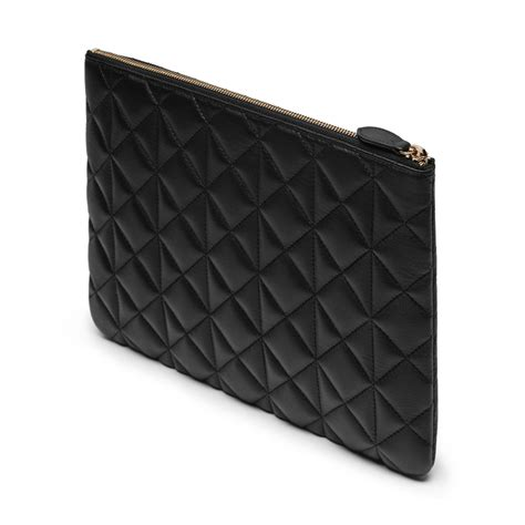 Mulberry Pouch lyst mulberry cara delevingne large pouch in black