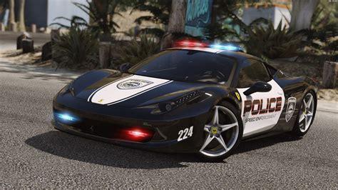 police ferrari ferrari 458 italia pursuit police autovista add