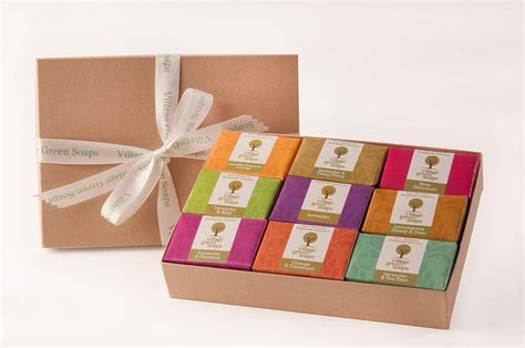 Boxes For Handmade Soap - luxury handmade soap selection gift box by green