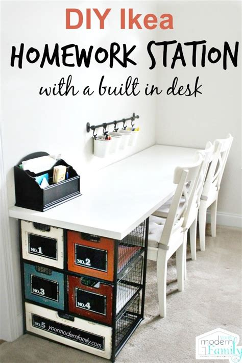 homework desk ideas 16 smart homework station ideas tip junkie