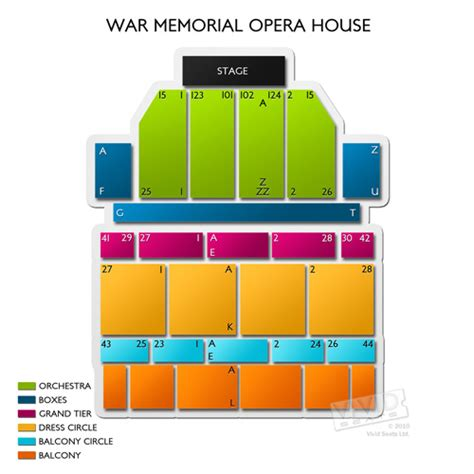san francisco war memorial opera house seating war memorial opera house seating chart seats