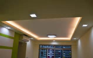 Ceiling Design Types Pop Gypsum And Grid Ceiling Gurgaon