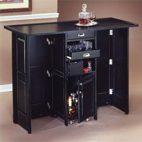 portable bar with glass doors picture 7 home bar design