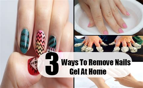 how to remove gel nails at home best ways to remove gel