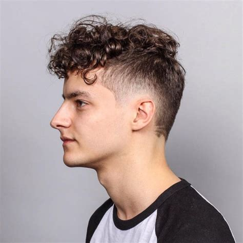 fade with curls 55 spectacular faux hawk fade ideas the ways to rock