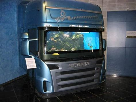 Mainan Truck Container Aquarium custom truck fish tank awesome car images