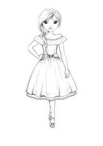 Topmodel Design Studio Vorlagen Country Style Dress Outline By Funandcake On Deviantart
