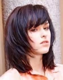 bob frisuren eine seite langer haarschnitt f 252 r ovales d 252 nnes gesicht haare bilder frisur