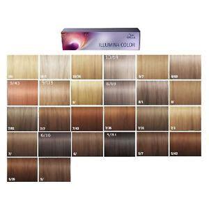 illumina color wella illumina color permanent creme hair color 60ml