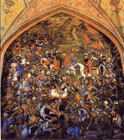 ottoman safavid wars file battle of chaldiran 1514 jpg wikimedia commons