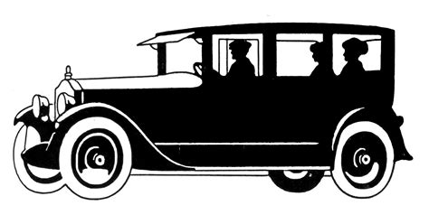 vintage cars clipart vintage clip art transportation silhouettes father s