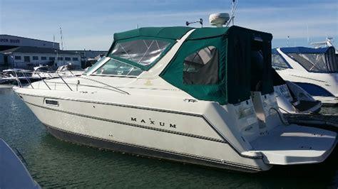 maxum boat history maxum 3200scr cruisers used in winthrop harbor il 60096